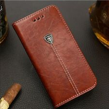 Magnetic Flip Luxury Leather SHOCKPROOF Silicone Cover Wallet Case for Galaxy S8