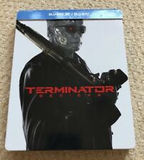 Terminator Genisys - 3D + 2D Blu-Ray Steelbook - Great Condition