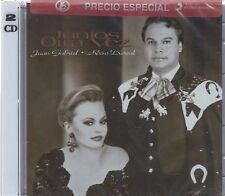 2 CD's Juan Gabriel, Rocio Durcal CD Juntos Otra Vez  SEALED NOW SHIPPING !