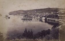 Villefranche France Vintage albumine ca 1880