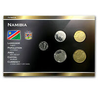 1993-2009 Namibia 5 Cents-5 Dollars Coin Set Unc - SKU #87153