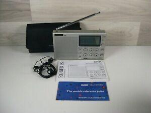 Roberts R 9921 FM/MW/SW BBC World Service ATS Radio + Case + Instructions