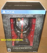 Dishonored 2 Limited Collector's Edition (PlayStation 4, 2016) PS4 New Sealed