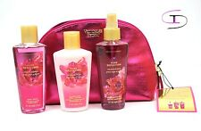 VICTORIA'S SECRET Pure Seduction Fragrance Gift Set 4.2 fl Lotion, Mist,Wash S10