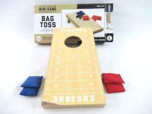 Vintage Promark Desk Top Bag Toss Mini Game Series 4 Bags & Board