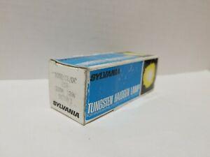 NEW SYLVANIA 58755-3 100Q/CL/DC/120V-ESR 100W DC Bayonet Tungsten Halogen Bulb