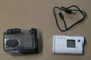 Genuine Sony FDR X1000V 4K HD splashproof Action Camera with underwater case