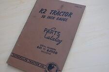 Caterpillar R2 Tractor Crawler Dozer Parts Manual Book Catalog Vintage D2 List