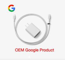 Google Pixel 1 2 3 OEM Original Charger Cable AND Power Block Adapter USB C