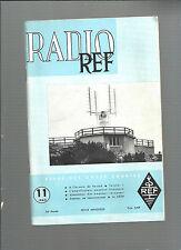 Radio Ref Revue des ondes courtes N°11 Novembre 1962 REF E28