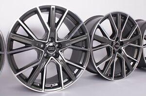4 x 19 Zoll Felgen Audi A3 Q3 TT S4 A4 B8 8K S5 A5 8T S6 A6 4G A7 Q5 8R SQ5 WH34