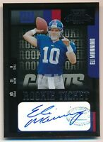 ELI MANNING 2004 PLAYOFF CONTENDERS RC ROOKIE TICKET AUTOGRAPH GIANTS AUTO SP