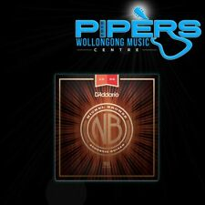 D'Addario NB1356 13-56 Nickel Bronze Medium Acoustic Guitar Strings NYXL EJ17
