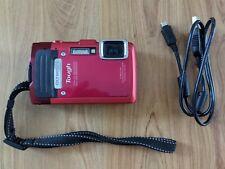 Olympus Tough TG-830 iHS 16.0MP Digital Camera - Red