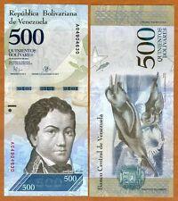 Venezuela, 500 Bolivares, 2016, P-New,  A-Prefix, New design, denomination UNC