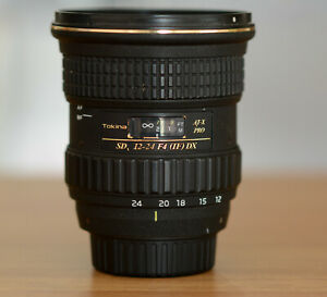 Tokina AT-X Pro SD 12-24mm F4 (IF) DX nikon fit wide angle lens