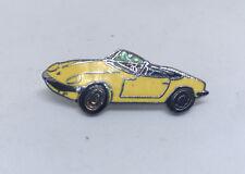 Lotus Elan S1/S2/S3/S4 lapel / hat pin , 35mm, yellow