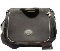Classic Harley Davidson SAC Black  Motorcycle Sissy Bar Backrest Bag