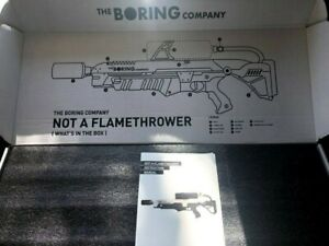 Not A Flame Thrower. The Boring Company. Instruction Manual Included. #15003