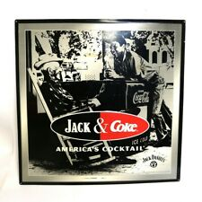 JACK DANIELS JACK & COKE AMERICA'S COCKTAIL METAL SIGN (RO1037089)
