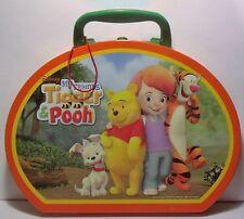 Disney My Friends Tigger & Pooh Super Sleuths Magnetic Travel Tin Play Set RARE