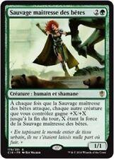 MTG Magic : Playset (4x) Sauvage maîtresse des bêtes Commander 2016 VF