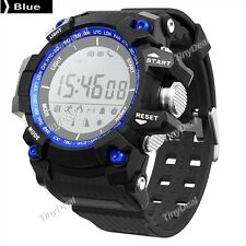 Blue NO.1 F2 Smart Watch Sports Outdoor IP68 Barometer Thermometer Altimeter