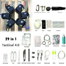 29 in 1 SOS EDC Tool Survival Kit Outdoor Camping Tactical Emergency Military