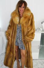 Pelzmantel Nerz Kolinsky weasel Fur coat pelliccia visone Fourrure Mink Red Fox