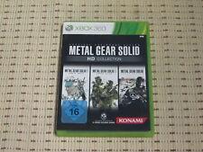 Metal Gear Solid HD Collection für XBOX 360 XBOX360 *OVP*