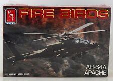 McDonnell Douglas AMT-ERTL AH-64A Apache Helicopter 1/72 Scale Plastic Model Kit