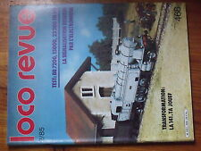 $$v Loco-Revue N°468 BB 7200 15000 22200  signalisation  141.TA Jouef