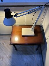 Vintage Anglepoise Desk Lamp , White ,switch On Head ,made In Italy