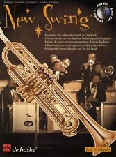 """NEW SWING"" INSTRUMENTAL PLAY-ALONG FOR ""TRUMPET"" MUSIC BOOK/CD-NEW ON SALE!!"
