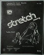 1979 BOUCLAIR Stretch sewing pattern #100 - chandail en tricot - français