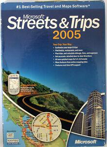Microsoft Streets & Trips 2005 - Englisch - NEUWARE