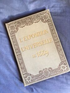 Livre Album 1890 E Monod L'exposition Universelle De 1900