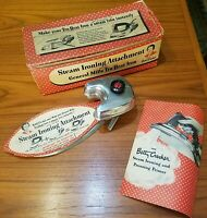 Vintage Betty Crocker Tru-Heat Steam Iron Attachment  in Original Box