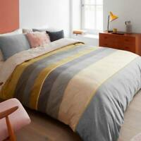 Bedding House Bodhi Yellow Quilt Cover Set Queen King Size Cotton