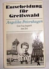 Entscheidung für Greifswald von Angelika Petershagen mit originaler Unterschrift
