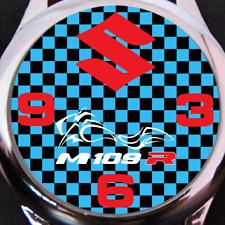 Mens Suzuki M109R Boulevard Watch USA Shipper Leather Band