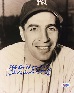 Phil Rizzuto Signed PSA/DNA COA 8X10 Photo Auto Autographed w/Scooter Nickname