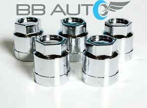 SET OF 5 NEW 82-92 CAMARO Z28 IROC FIREBIRD TRANS AM CHROME LUG NUT COVERS CAPS