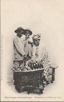 CP martinique et guadeloupe -  marchande de tablettes de cocos