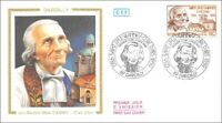 France - SAINT JEAN MARIE BAPTISTE VIANNEY - CURE D'ARAS - DARDILLY - 1986 - FDC