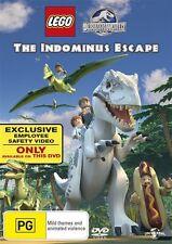 The LEGO Jurassic World - Indominus Escape (DVD, 2016)