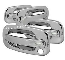 1999-2006 Chevy/GMC Silverado/Sierra 4 Chrome Door Handle Covers no PSKH