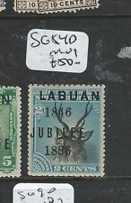 LABUAN  (P0108B)  2C DEER  JUBILEE SG 84D    MOG