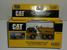 NORSCOT 1/87 CAT 730 ARTICULATED TRUCK CAMION CITERNE A EAU CATERPILLAR
