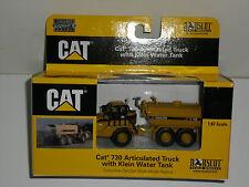 NORSCOT 1/87 CAT 730 ARTICULATED TRUCK CAMION CITERNE A EAU CATERPILLAR